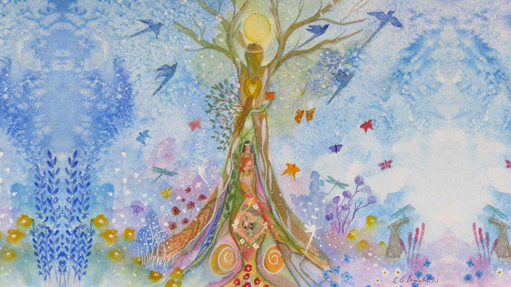Aquarelle Elaine Bayley Illustrations page Se Soigner Candice Braas