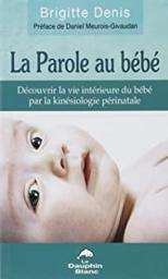 la parole au bébé couverture livre